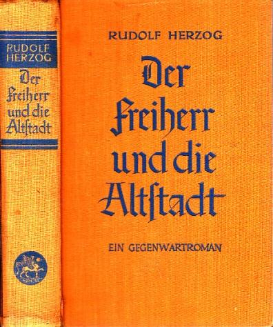 Der Freiherr und die Altstadt - Ein Gegenwartsroman