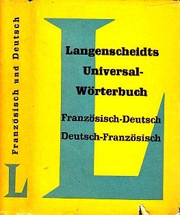 Langenscheidts Universal-Wörterbuch Französisch-Deutsch , Deutsch-Französisch