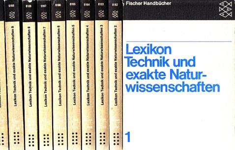 Lexikon Technik und exakte Naturwissenschaften 10 Bände