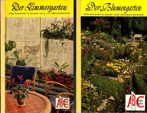 Der Blumengarten - Der Zimmergarten 2 Bücher
