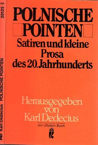 Polnische Pointen - Satiren und kleine Prosa des 20. Jahrhunderts