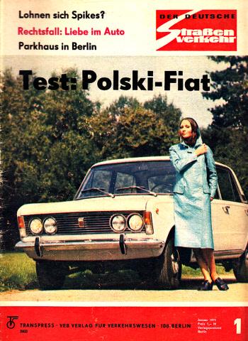 Der deutsche Straßenverkehr - Zeitschrift für Verkehr und Wirtschaft - Hefte 1, 2, 3, 4, 7, 8, 9, 10/1971 8 Hefte