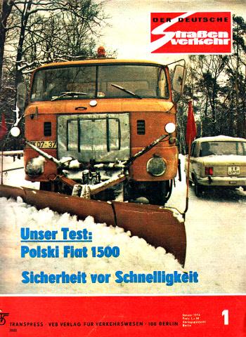 Der deutsche Straßenverkehr - Zeitschrift für Verkehr und Wirtschaft - Hefte 1, 2, 3, 4, 5, 6, 7, 8, 9, 10, 11, 12/1974 12 Hefte