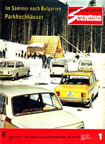 Der deutsche Straßenverkehr - Zeitschrift für Verkehr und Wirtschaft - Hefte 1, 2, 3, 4, 5, 6, 7, 8, 9, 10, 11, 12/1975 12 Hefte