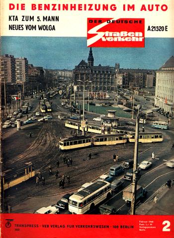 Der deutsche Straßenverkehr - Zeitschrift für Verkehr und Wirtschaft - Hefte 2, 3, 4, 5, 6, 7, 9, 10, 11, 12/1968 10 Hefte