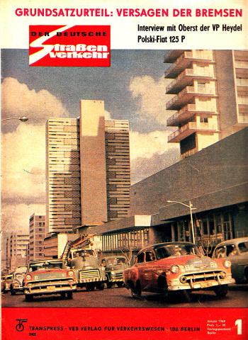 Der deutsche Straßenverkehr - Zeitschrift für Verkehr und Wirtschaft - Hefte 1, 2, 3, 4, 5, 6, 7, 8, 9, 10, 11, 12/1969 12 Hefte