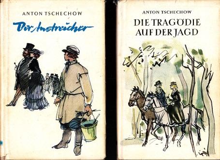 Der Anstreicher - Die Tragödie auf der Jagd 2 Bücher