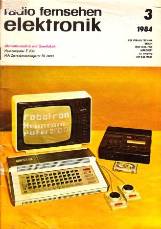 Radio Fernsehen Elektronik - Heft 3/1984