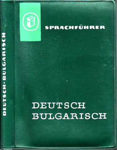 Sprachführer Deutsch-Bulgarisch