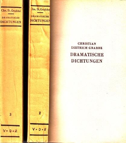 Dramatische Dichtungen Band 1, 2,3 3 Bücher