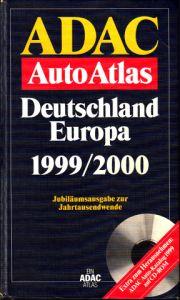 ADAC Auto Atlas Deutschland Europa 1999/2000 ohne CD-ROM
