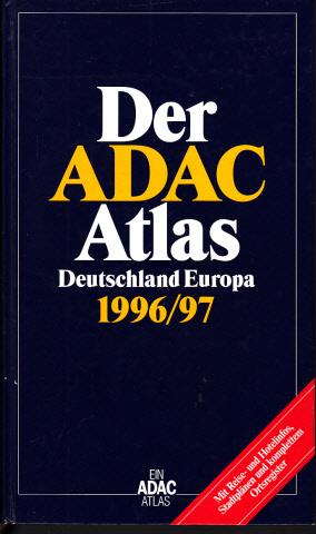 Adac Auto Atlas Deutschland Europa 20032004 Ohne Cd Rom Nr 35044