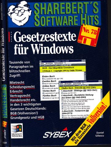 ShareBert präsentiert: Gesetzestexte für Windows