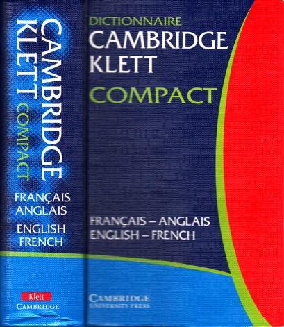 Dictionnaire Cambridge Klett Compact - Francais-Anglais , English-French