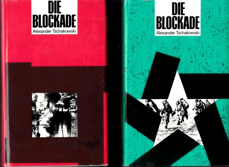 Die Blockade erster bis dritter Band 3 Bücher