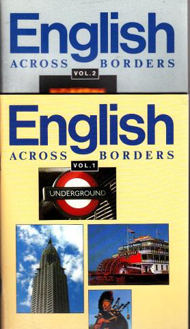English ACROSS BORDERS Volume 1, Klasse 11 und Volume 2, Klasse 12 - Ein Oberstufenlesebuch für Brandenburg, Mecklenburg-Vorpommern, Sachsen, Sachsen-Anhalt und Thüringen 2 Büchwer