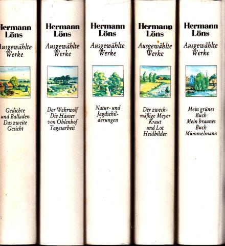 Ausgewählte Werke Band 1 bis Band 5 5 Bücher