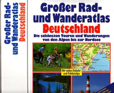 Großer Rad- und Wanderatlas Deutschland