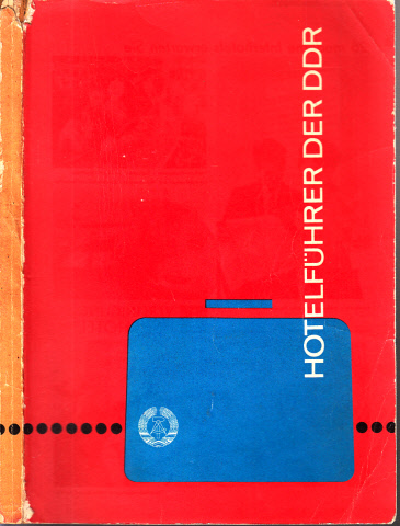 Hotelführer der DDR Ausgabe 1970