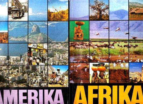 Geographie Amerika, Afrika