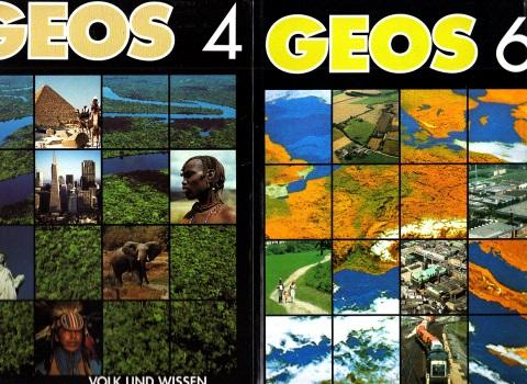 GEOS 4 und 6 - Lehrbuch Geographie 2 Bücher