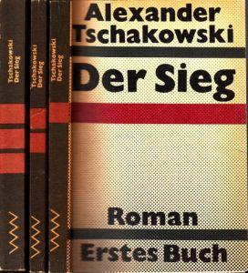 Der Sieg erstes, zweites und drittes Buch 3 Bücher Aus dem Russischen von Harry Burck