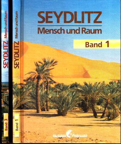 Mensch und Raum - Band 1 + 3 2 Bücher