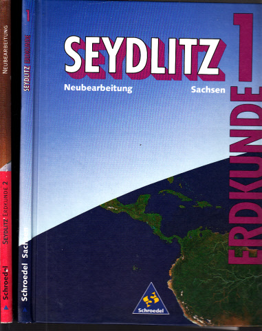 Seydlitz Erdkunde 1, 2 - Sachsen 2 Bücher
