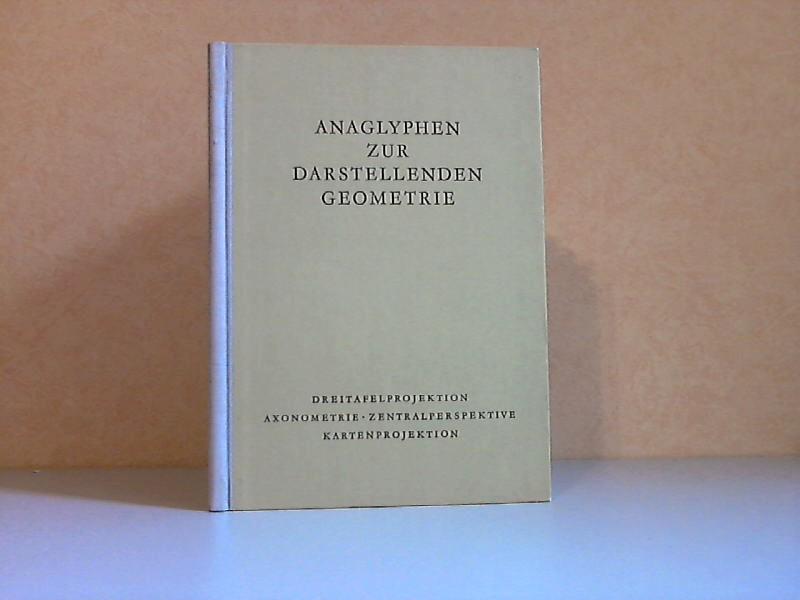 Anaglyphen zur darstellenden Geometrie - Dreitafelprojektion, Axonometrie, Zentralperspektive, Kartenprojektion