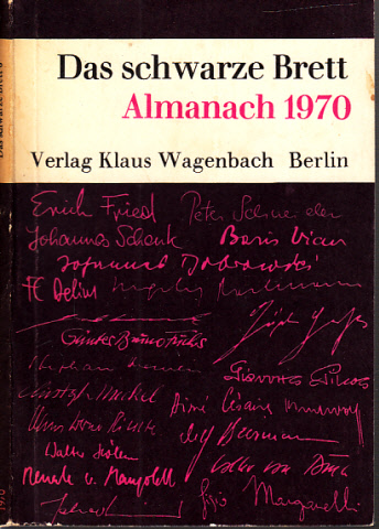 Das schwarze Brett 6 - Almanach