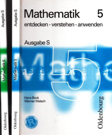 Mathematik 5 und Mathematik 6 - entdecken, verstehen, anwenden - Ausgabe S 2 Bücher