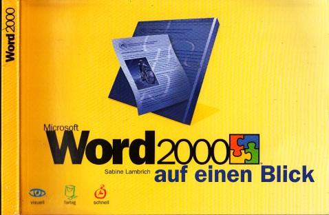 Microsoft Word 2000 auf einen Blick