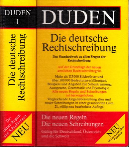 Duden Band 1 - Rechtschreibung der deutschen Sprache