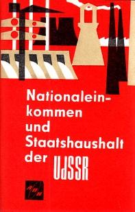 Nationaleinkommen und Staatshaushalt der UdSSR