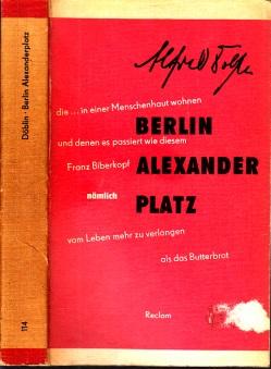 Berlin Alexanderplatz - Die Geschichte von Franz Biberkopf Reclams Universal-Bibliothek Band 114