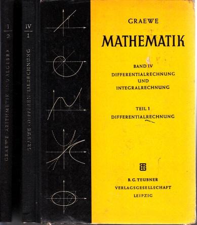 Mathematik unter besonderer Berücksichtigung von Physik und Technik Band 1/ Teil 2 und Band 4/ Teil 1 2 Bücher