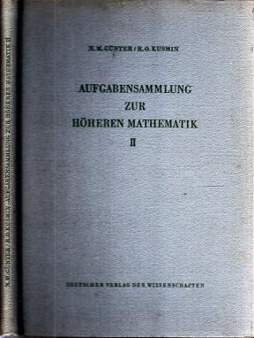 Aufgabensammlung zur Mathematik Band II Hochschulbücher für Mathematik Band 33