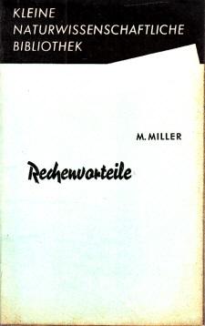 Rechenvorteile - Kleine naturwissenschaftliche Bibliothek Reihe Mathematik, Band 3