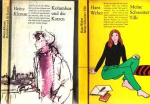 Meine Schwester Tilli - Kolumbus und die Katzen 2 Bücher - Bustrationen: Gitta Kettner und Volker Pfüller
