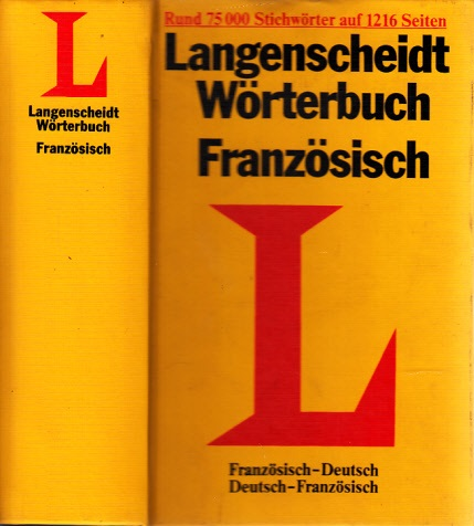 Langenscheidt Wörterbuch Französisch-Deutsch - Deutsch-Französisch