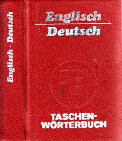 Taschenwörterbuch Englisch-Deutsch mit etwa 15 ()()() Stichwörtern