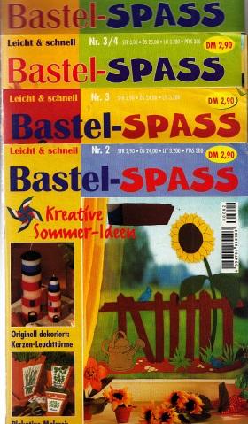 Bastel-Spass Heft Nr. 2, 3, 3/4, 5/6 - P 4 Hefte