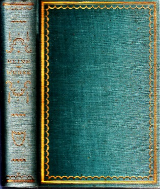 Heinrich Heine Dichtungen erster Band und zweiter Band in einem Buch Tillgners Klassiker