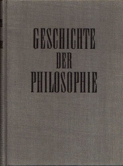 Geschichte der Philosophie Band II