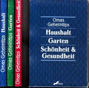 Omas Geheimtips - Haushalt, Garten, Schönheit und Gesundheit 3 Bücher in Einsteckhülle