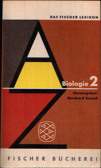 Biologie 1 Botanik + Zoologie - Das Fischer Lexikon 27
