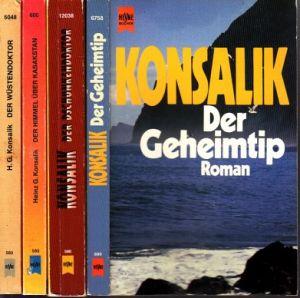 Der Wüstendoktor - Der Himmel über Kaskstan - Der Dschunkendoktor - Der Geheimtip 4 Bücher
