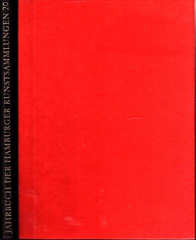 Jahrbuch der Hamburger Kunstsammlungen Band 20