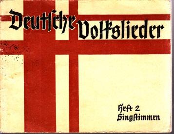 Deutsche Volkslieder - Heft 2, Singstimmen