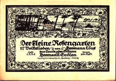 Der kleine Rosengarten - Volkslieder zur Laute oder Gitarre - Heft 4